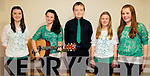 Taking part in the Scór na nÓg competition at Foilmore Community Centre on Sunday last were l-r; Leanne O'Neill, Shauna Grady, Stephen Fogarty, Ellen O'Sullivan & Fionúr O'Connor representing Foilmore GAA Club.