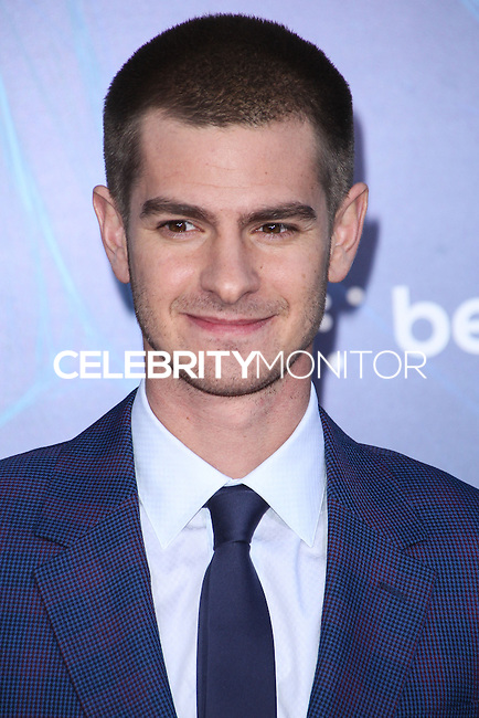 NEW YORK CITY, NY, USA - APRIL 24: Actor Andrew Garfield arrives at the New York Premiere Of Sony Pictures' 'The Amazing Spider-Man 2' held at Ziegfeld Theater on April 24, 2014 in New York City, New York, United States. (Photo by Jeffery Duran/Celebrity Monitor)