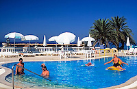 Turkey, Province Antalya, Alanya: holiday resort at Mediterranean Sea, Hotel Alantur: Pool