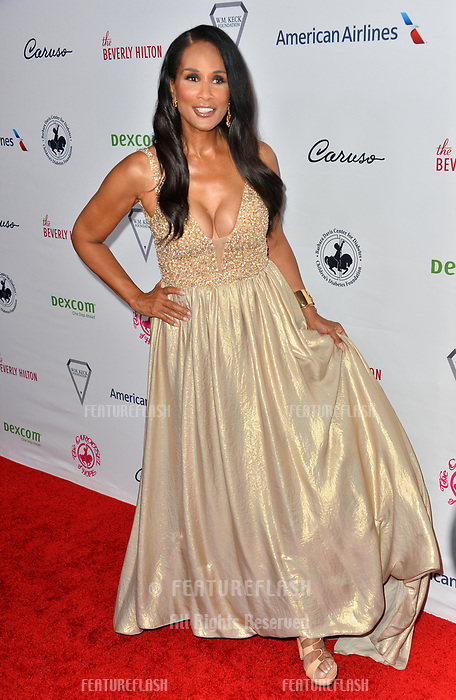 LOS ANGELES, CA. October 06, 2018: Beverly Johnson at the 2018 Carousel of Hope Ball at the Beverly Hilton Hotel.<br /> Picture: Paul Smith/Featureflash