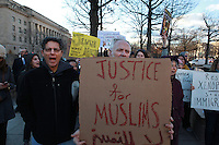 170126 Muslim Support Protest Freedom Plaza