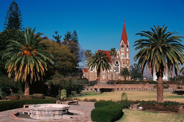 Church in Windhoek, Namibia, Africa