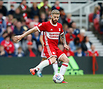 Adam Clayton of Middlesbrough during the Championship match at the Riverside Stadium, Middlesbrough. Picture date: August 12th 2017. Picture credit should read: Simon Bellis/Sportimage