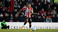 Ollie Watkins of Brentford in action during Brentford vs Middlesbrough, Sky Bet EFL Championship Football at Griffin Park on 8th February 2020