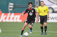 D.C. United midfielder Branko Boskovic (8)  D.C. United defeated the Colorado Rapids 2-0 at RFK Stadium, Wednesday May 16, 2012.