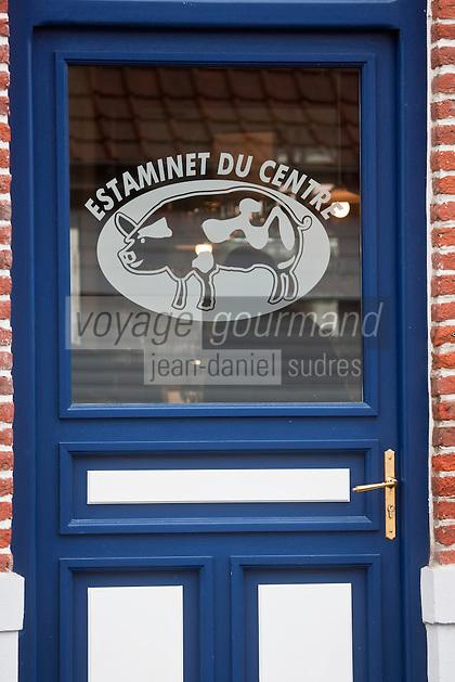Europe/France/Nord-Pas-de-Calais/59/Nord/Godewaersvelde: Estaminet du Centre
