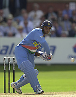 .13/07/2002.Sport - Cricket -NatWest Series Final- Lords.England vs India.Sourav Ganguly