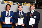 Water Polo Boys finalists Thornton Munro, Matthew Small and Timothy Dreadon. ASB College Sport Young Sportsperson of the Year Awards held at Eden Park, Auckland, on November 11th 2010.