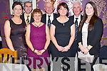 Pictured at the Killorglin Golf Club Captains dinner in the clubhouse on Saturday night were Eileena nd Joe Kennedy, Maria Pigott, lady captain, Jer Joy captain, Katie Joy, Tim Scannell, president and Tanya Joy.......