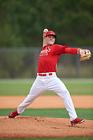 St. Louis Cardinals pitcher Bryan Dobzanski (36) during a Minor League Spring Training intrasquad game on March 31, 2016 at Roger Dean Sports Complex in Jupiter, Florida.  (Mike Janes/Four Seam Images)