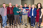 The Paddy Reidy 31 Card Perpetual Cup was presented to Declan Corcoran on Monday night at the Cahersiveen Men's Shed, Declan accepted the cup on behalf of his father the late John Corcoran who was the Sheds best 31 Card player, pictured l-r; Eddie Corcoran, Francie Corcoran, Paddy Reidy, Jack O'Sullivan, Declan Corcoran, Mary Corcoran, Kitty O'Sullivan & Noreen Corcoran.