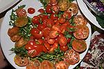 Tomato Salad, Casa Bleve Restaurant, Rome, Italy
