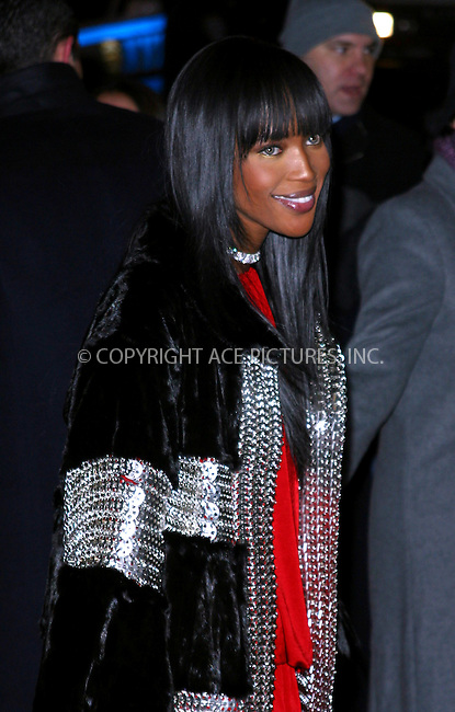 "Naomi Campbell at the premiere of ""Gangs of New York."" New York, December 9, 2002. Please byline: NY Photo Press. REF: MM_FF190 -- THIS REFERENCE CODE MUST APPEAR ON YOUR SALES REPORT, THANK YOU...*   ..*PAY-PER-USE*      ....NY Photo Press:  ..phone (646) 267-6913;   ..e-mail: info@nyphotopress.com"