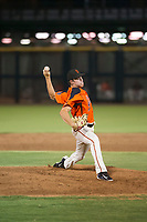 AZL Giants relief pitcher Seth Corry (63) delivers a pitch during a game against the AZL Angels on July 10, 2017 at Scottsdale Stadium in Scottsdale, Arizona. AZL Giants defeated the AZL Angels 3-2. (Zachary Lucy/Four Seam Images)