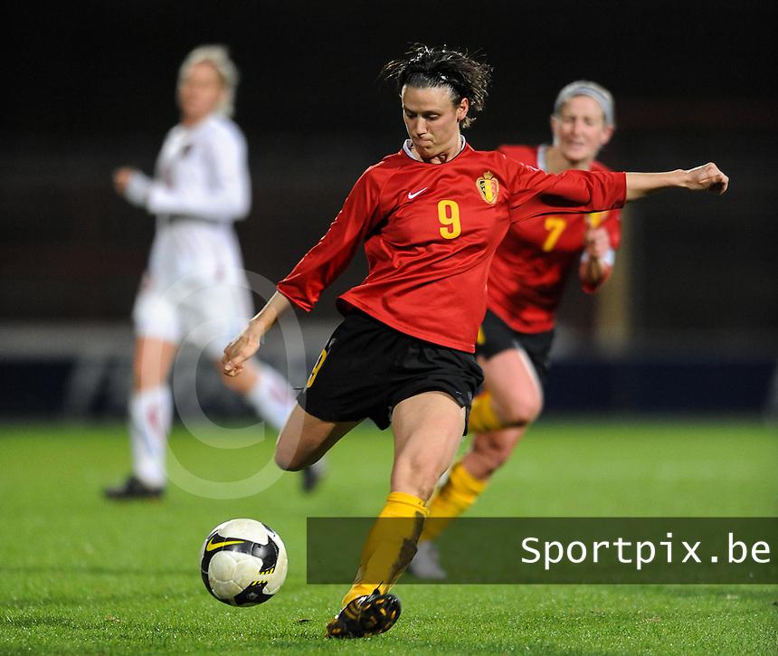 Belgium - Czech Republic : Marjorie De Rammelaere.foto DAVID CATRY / Vrouwenteam.be