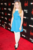 Sabrina Carpenter attends The special screening of Radius-TWC's HORNS