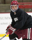 Clay Anderson (Harvard - 3) - The Harvard University Crimson practiced on Friday, October 22, 2013, at Bright-Landry Hockey Center in Cambridge, Massachusetts.