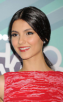 HOLLYWOOD, CA - OCTOBER 26: Victoria Justice arrives at the 3rd Annual TeenNick HALO Awards at Hollywood Palladium on October 26, 2011 in Hollywood, California. /NortePhoto.com<br />