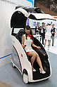 "October 3, 2016, Chiba, Japan - Japan's electronics giant Hitachi displays one-man ride mobility robot ""Ropits"" (Robot for Personal Intelligent Transport System) for the autonoumous driving at a press preview of the CEATEC Japan 2016 in Chiba, suburban Tokyo on Monday, October 3, 2016. Asia's largest electronics trade show CEATEC will be held here from October 4 through 7.   (Photo by Yoshio Tsunoda/AFLO) LWX -ytd-"