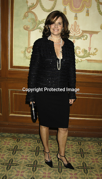Lorraine Bracco ..at the 17th Annual PAL Women of the Year Luncheon on October 26, 2005 at The Pierre Hotel. Lorraine Bracco and Susan Lyne were the honorees. ..Photo by Robin Platzer, Twin Images