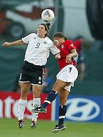 Birgit Prinz, Shannon Boxx, 2003 WWC. Germany 3-0.