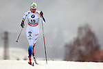 Sara Lindborg in action during the Women 5 km Classic Individual in Val Di Fiemme<br /> <br /> &copy; Pierre Teyssot