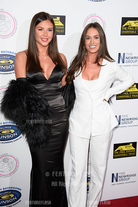 LONDON, UK. September 22, 2018: Shelby Tribble &amp; Clelia Theodorou at the Paul Strank Charitable Trust Annual Gala at the Bank of England Club, London.<br /> Picture: Steve Vas/Featureflash