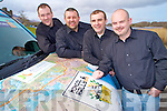 Diarmuid O'Neill, John Brennan, Frank Knightly and Pul O'Donoghue who will drive in the Mongol Rally in July in aid of the Christina Noble foundation...