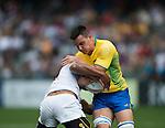 Tonga VS  Brazil during    HSBC Hong Kong Rugby Sevens 2016on 08 April 2016 at Hong Kong Stadium in Hong Kong, China. Photo by Li Man Yuen / Power Sport Images