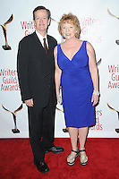 www.acepixs.com<br /> February 19, 2017  New York City<br /> <br /> Dylan Baker and Becky Ann Baker attending the 69th Writers Guild Awards New York Ceremony at Edison Ballroom on February 19, 2017 in New York City.<br /> <br /> Credit: Kristin Callahan/ACE Pictures<br /> <br /> <br /> Tel: 646 769 0430<br /> Email: info@acepixs.com