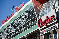 The Scotiaban Thetare Chapters store is pictured in Toronto April 19, 2010. Chapters is a Canadian big box bookstore banner owned by Indigo Books and Music.