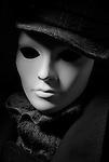 Hollywood Portrait White Mask