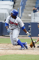 July 10, 2009:  Second Baseman Josh Harrison of the Daytona Cubs during a game at George M. Steinbrenner Field in Tampa, FL.  Daytona is the Florida State League High-A affiliate of the Chicago Cubs.  Photo By Mike Janes/Four Seam Images