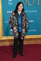 "13 February 2020 - Los Angeles, California - Diana Gabaldon. ""Outlander"" Season 5 Los Angeles Premiere held at the Hollywood Palladium. Photo Credit: Birdie Thompson/AdMedia"