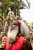 MAURITIUS, portrait of a local woodcarver on the waterfront in Port Louis