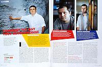 Studio (French moovie magazine)..2007/08/.The Romanian films directors..Photo: Cosmin Bumbut