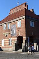 Kunsthalle in der ehemaligen Post am Stora Torg in Kristianstad, Provinz Skåne (Schonen), Schweden, Europa<br /> art gallery in former postoffice at Stora Torg  in Kristianstad, Province Skåne, Sweden