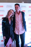 """SÃO PAULO, SP - 15.07.2013: COQUETEL ORANGE IS THE NEW BLACK - Piper Kerman, autora do livro que deu origem à série original da Netflix, """"Orange is The New Black"""", durante um coquetel que acontece no Blá Bar, em São Paulo nesta segunda-feira (15),  Danielle Brooks (Modern Love), executivos da Netflix e convidados especiais também estiveram presentes para celebrar o recente lançamento da série no Brasil. (Foto: Marcelo Brammer / Brazil Photo Press)."""