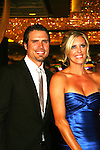 Joshua Morrow and wife - Red Carpet - 37th Annual Daytime Emmy Awards on June 27, 2010 at Las Vegas Hilton, Las Vegas, Nevada, USA. (Photo by Sue Coflin/Max Photos)
