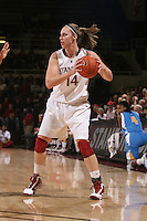 STANFORD, CA - FEBRUARY 4:  Kayla Pedersen of the Stanford Cardinal during Stanford's 74-53 win over UCLA on February 4, 2010 at Maples Pavilion in Stanford, California.