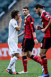 FC Seoul Midfielder Osmar Barba (c) during the 2017 Lunar New Year Cup match between Auckland City FC (NZL) vs FC Seoul (KOR) on January 28, 2017 in Hong Kong, Hong Kong. Photo by Marcio Rodrigo Machado/Power Sport Images