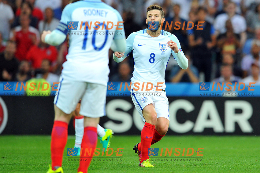 Adam Lallana Dejection Delusione <br /> Marseille 11-06-2016 Stade Velodrome football Euro2016 England - Russia  / Inghilterra - Russia Group Stage Group B. Foto Philippe Lecoeur / Panoramic / Insidefoto <br /> ITALY ONLY