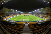 5th February 2019, Molineux Stadium, Wolverhampton, England; FA Cup football, 4th round replay, Wolverhampton Wanderers versus Shrewsbury Town; General view of the pitch and stadium from behind the goal
