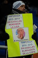 Real Madrid´s  and Sevilla's  during 2014-15 La Liga match between Real Madrid and Sevilla at Santiago Bernabeu stadium in Alcorcon, Madrid, Spain. February 04, 2015. (ALTERPHOTOS/Luis Fernandez) /NORTEphoto.com