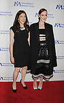 BEVERLY HILLS, CA- OCTOBER 23: Actress Jena Malone (R) and International Corps President & CEO Nancy Aossey arrive at the International Medical Corps' Annual Awards dinner ceremony at the Beverly Wilshire Four Seasons Hotel on October 23, 2014 in Beverly Hills, California.