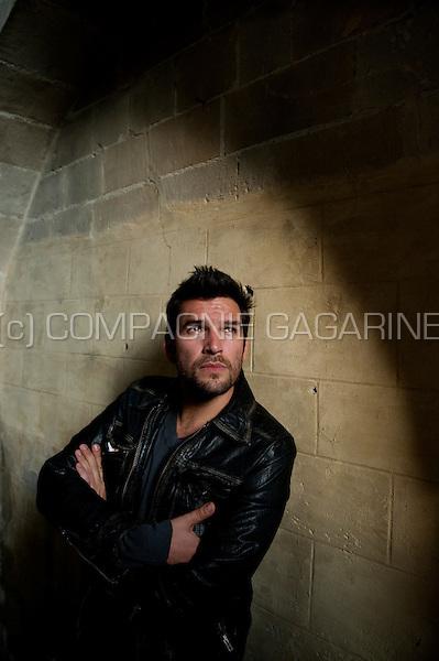 Flemish actor / singer Roel Vanderstukken in Tongeren (Belgium, 17/06/2009)