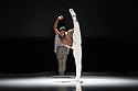 London, UK. 26.06.2018. Nederlands Dans Theater 1 presents a mixed bill at Sadler's Wells theatre, comprising work by Leon & Lightfoot, Pite and Goecke. The piece shown is: STOP MOTION, by Leon and Lightfoot. The dancers are: Roger Van Der Poel, Jorge Nozal, Jianhui Wang, Meng-Ke Wu, Sarah Reynolds, Chloe Albaret, Prince Credell, Marne van Opstal. Picture shows: Prince Credell. Photograph © Jane Hobson.