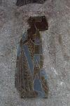 Historic Tudor brass floor grave memorial, Holy Trinity Church, Long Melford, Suffolk, England, UK