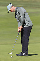 Paul Casey (ENG) birdie putt on the 3rd green at Monterey Peninsula CC during Saturday's Round 3 of the 2018 AT&amp;T Pebble Beach Pro-Am, held over 3 courses Pebble Beach, Spyglass Hill and Monterey, California, USA. 10th February 2018.<br /> Picture: Eoin Clarke | Golffile<br /> <br /> <br /> All photos usage must carry mandatory copyright credit (&copy; Golffile | Eoin Clarke)