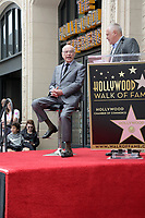 LOS ANGELES - MAY 7:  Alan Arkin, Matthew Arkin at the Alan Arkin Star Ceremony on the Hollywood Walk of Fame on May 7, 2019 in Los Angeles, CA
